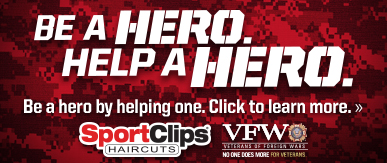 Sport Clips Haircuts of Mayfield Heights - Golden Gate Plaza ​ Help a Hero Campaign